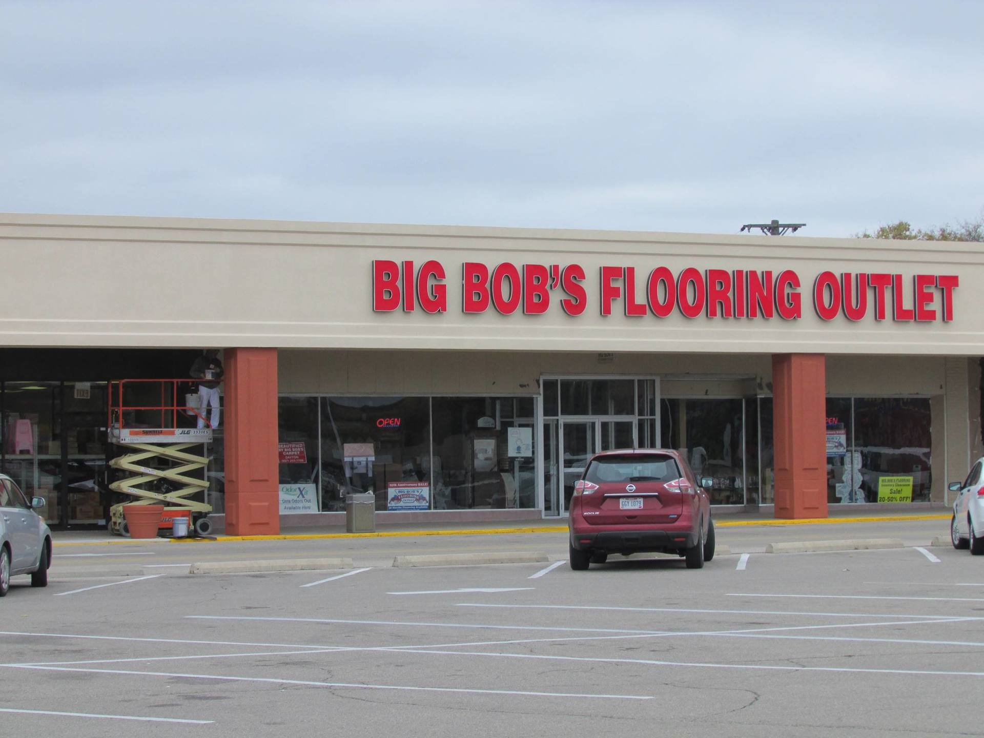 Dayton OH Airway Center Retail Space For Lease MId America